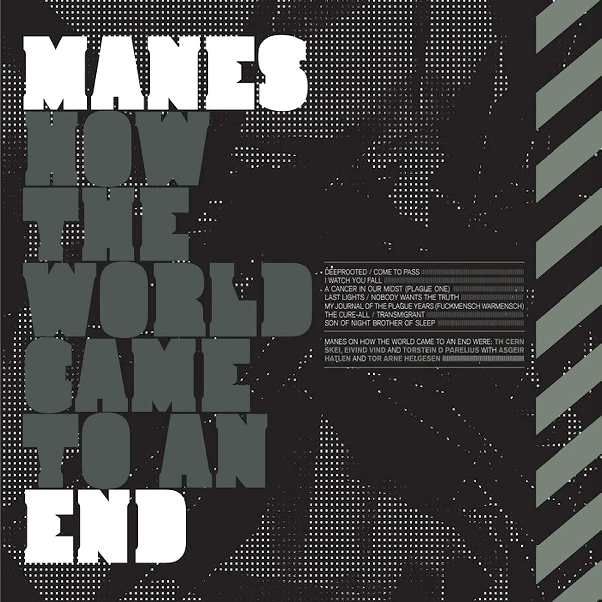 Manes - How The World Came To An End (album cover)